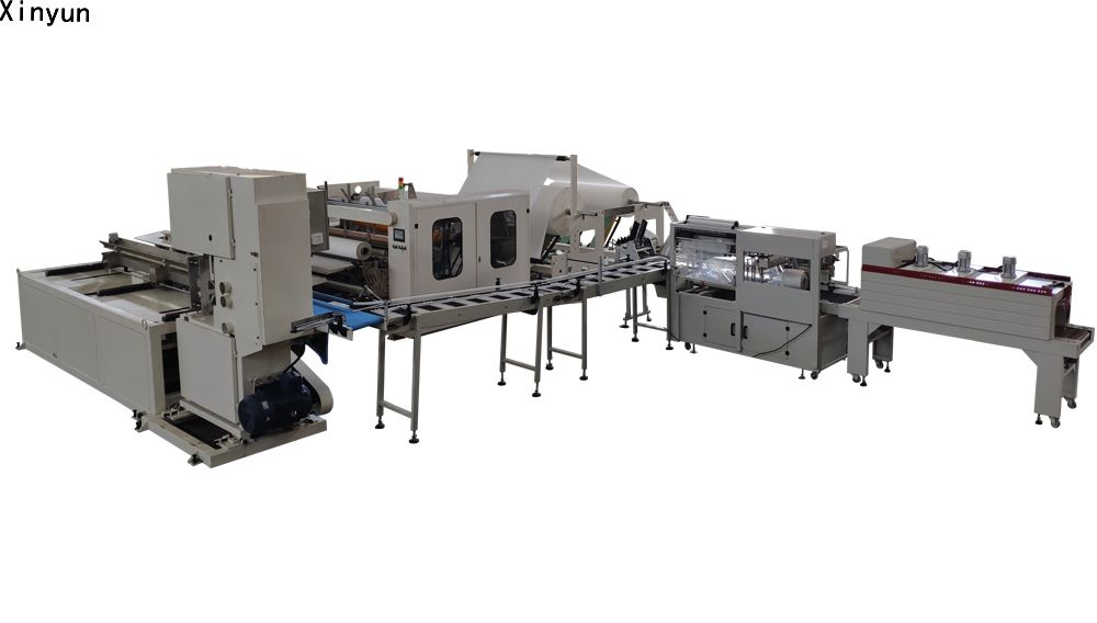 XY-TQ-A-H Automatic maxi roll paper machine production line